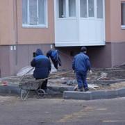 Установка бортового камня, заказать в Украине фото