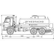 Автотопливозаправщик КАМАЗ-66062 фото