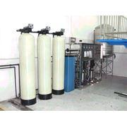 Установка водоподготовки деминерализованной воды фото