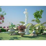 Ландшафтный дизайн проектирование 3d визуализация. фото