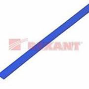 Трубка термоусаживаемая 5/2,5 мм синяя REXANT фото
