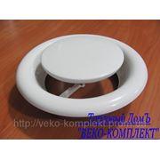 Анемостат металлический DVS 160 фото