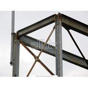 Монтаж высотных большепролетных металлических конструкций фото
