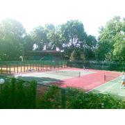 Услуги теннисных кортов фото