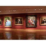 Освещение художественных галерей фото
