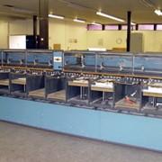 Оборудование брошюровочно-переплетное-Брошюровальная линия из горизонтальной вакуумной листоподборки Theisen & Bonitz Sprint 310 VP на 10 станций и финиш-модуля TB Sprint 303. фото