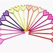 "Пика ""Сердце"" для канапе, Пласт-Лидер, 85 мм., 250 шт./уп. фото"