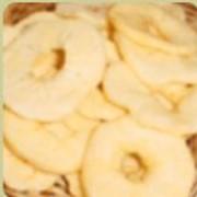 Яблочные кольца и кубики