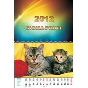 Настенный перекидной календарь фото
