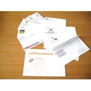 Фирменный конверт фото