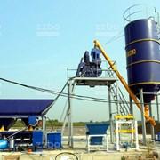 Бетонный завод Скип-15 фото
