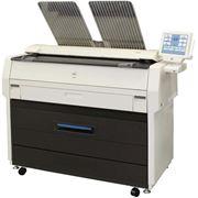 Широкоформатный копир (МФУ) Kyocera TASKalfa 4820w для работы с форматами бумаги А2 А1 А0 фото