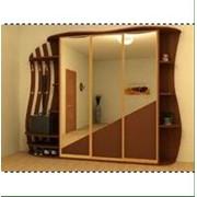 Шкаф-купе с зеркальными дверями фото