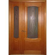 Двери межкомнатные двойные фото