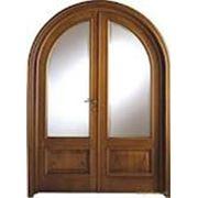 Двери межкомнатные арочные фото
