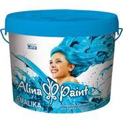 Термостойкая акриловая эмаль для любых поверхностей Alina Paint EMALIKA 1 кг фото