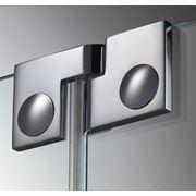 Дверная петля для душевых кабин Plan artist 180° упор DIN слева фото