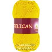 Пряжа Pelican (желтый) фото