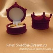 Коробочка для колец Корона фото