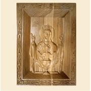 Икона деревянная резная ИР6 фото