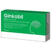 Рафинированный и оцененный количественно сухой экстракт гинкго Ginkobil 80 мг фото