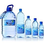 Минеральная вода, питьевая, негазированная фото