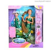 """Набор кукол DEFA Lucy """"Морские царевны"""" (в комплекте морское животное и аксессуары, волосы меняют цвет) фото"""