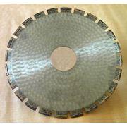 Алмазный круг по бетону фото