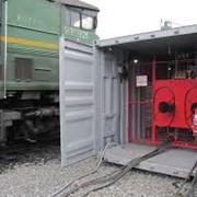 Кантователь рам тележек локомотивов СТ.442354.204 фото