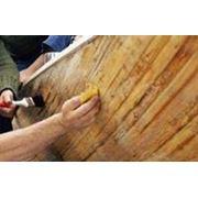 Лакирование древесины фото