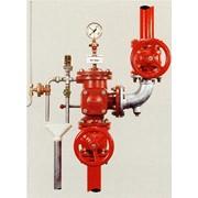 Установка дренчерных систем пожаротушения фото