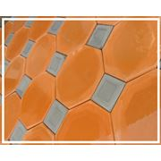 Тротуарная плитка Аллея мозаика 3 фото