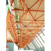 Стройматериалы: Металлоизделия строительного назначения: Сборные металлические сооружения: Ангары из легких металлоконструкций. фото