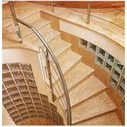Лестницы из травертина фото