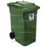 Контейнер для отходов и мусора (HDPE) MGB 360л. «Weber» (Германия) 100% первичное сырьё! фото