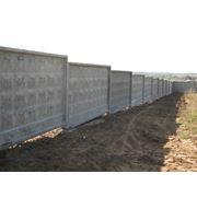 Ограда железобетонная фото