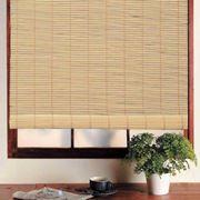 Жалюзи бамбуковые рулонные фото