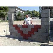 Блок бетонный стеновой фото