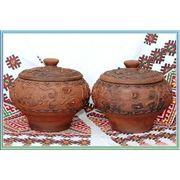 Изделия из коричневой керамики фото