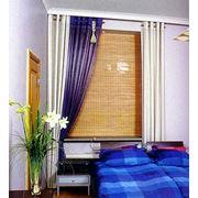 Деревянные римские шторы фото