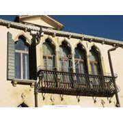 Балконное ограждение фото