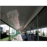 Потолки подвесные реечные из пластика фото