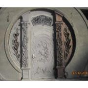 Ворота узорные фото