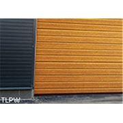 Промышленные ворота с имитацией древесины - TLPW фото