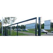 Ворота раздвижные фото