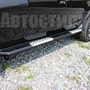 Алюминиевые пороги Rival на Nissan Terrano (2013-) фото
