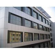 Панели фасадные алюминиевые композитные фото