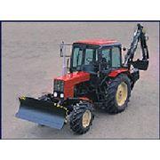 Навесной одноковшовый экскаватор KRABI-3409 для тракторов МТЗ фото