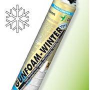 Пена Den Braven GUNFOAM – WINTER (зимняя пистолетная монтажная пена 750 мл) фото