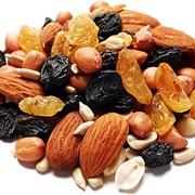 Сухофрукты, орехи фото